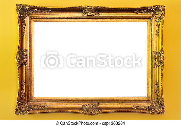 Empty picture frame - csp1383284