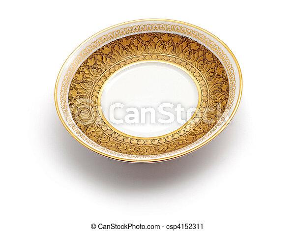 empty plate - csp4152311