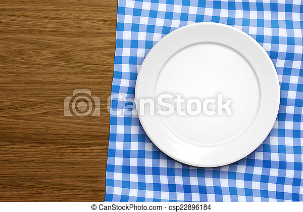 empty plate - csp22896184