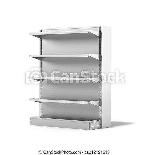 Empty Retail Store Shelf - csp12121613