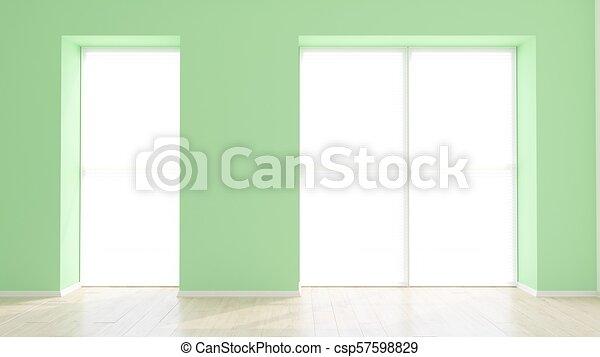 Empty Room - csp57598829
