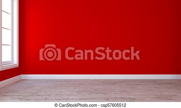 Empty Room - csp57605512
