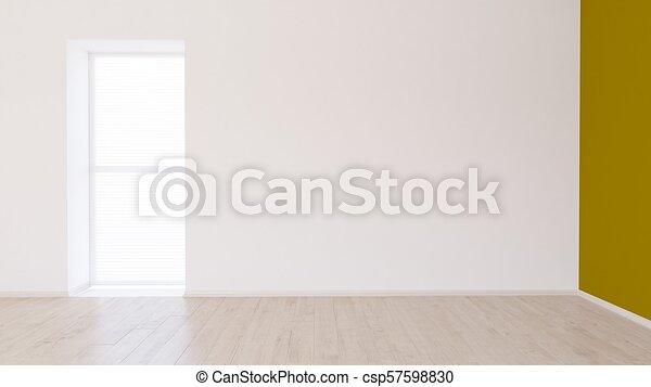 Empty Room - csp57598830