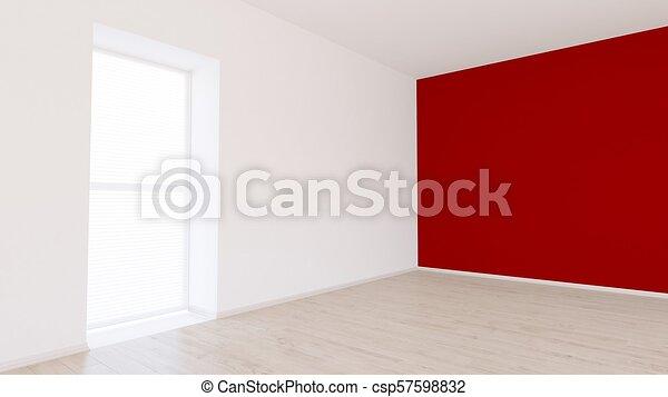 Empty Room - csp57598832