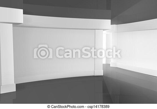 Empty Room - csp14178389
