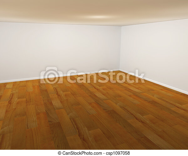 Empty room - csp1097058
