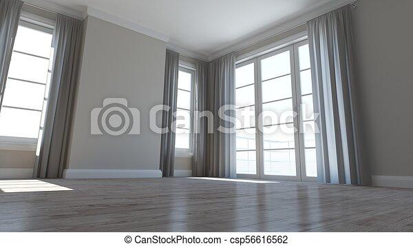 Empty Room - csp56616562