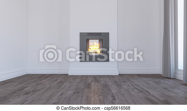 Empty Room - csp56616568