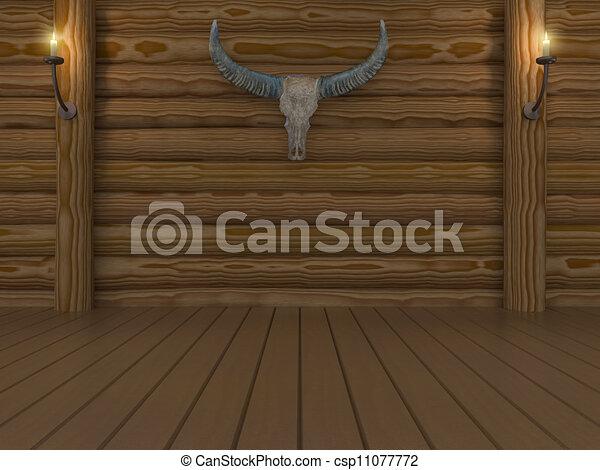 empty room - csp11077772