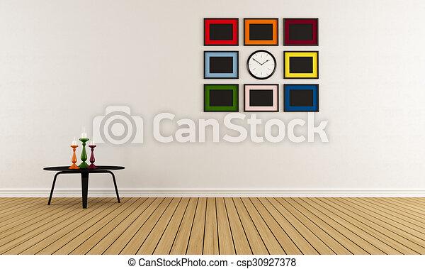 Empty room - csp30927378