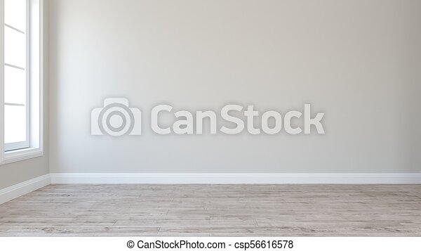 Empty Room - csp56616578
