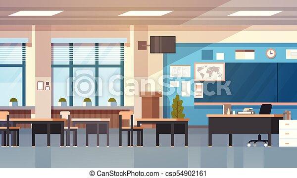 Modern Classroom Clip Art