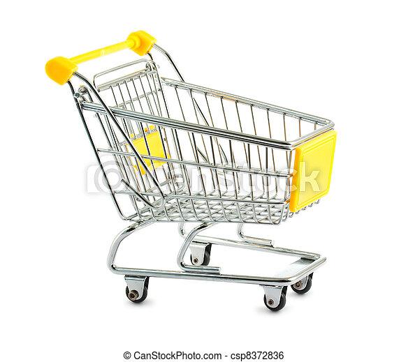 Empty shopping cart - csp8372836