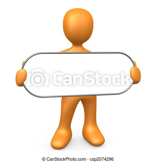 Empty Sign - csp2074296
