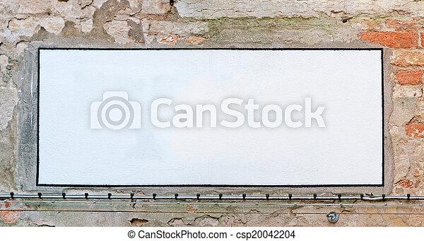 empty sign - csp20042204