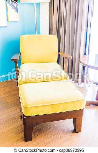 Empty sofa and chair - csp36370395