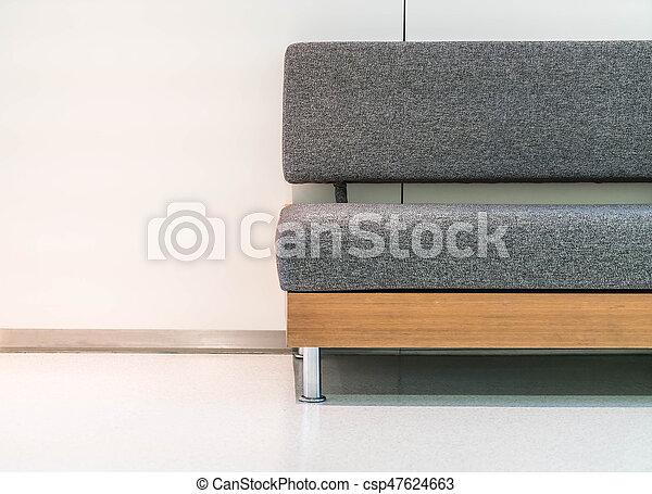 empty sofa in living room - csp47624663