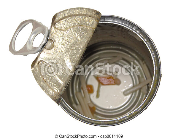 Empty Soup Can - csp0011109
