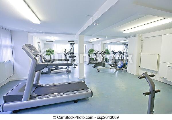empty sport room - csp2643089
