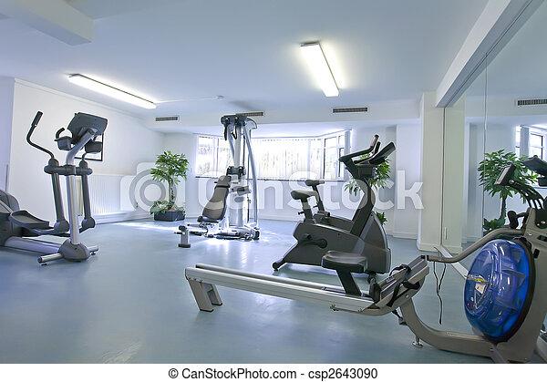 empty sport room - csp2643090
