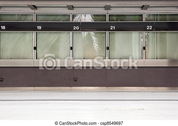 Empty ticket window - csp8549697