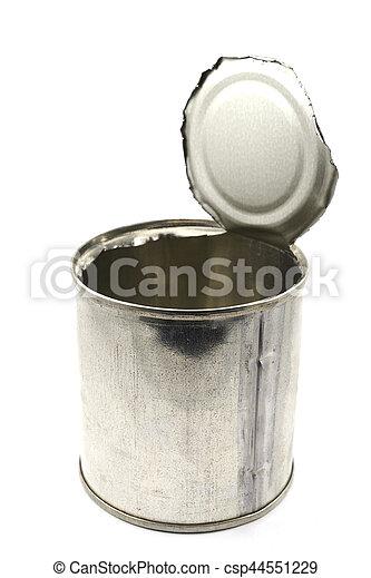 empty tin can - csp44551229