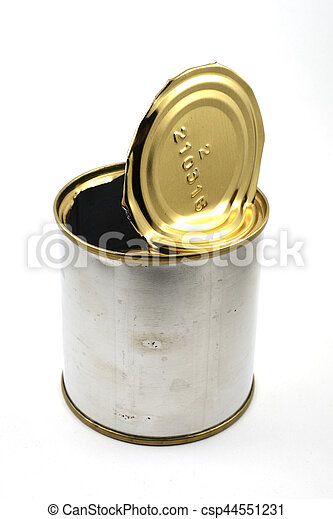 empty tin can - csp44551231