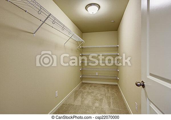 empty walkin closet csp22070000 empty walk in n79 closet