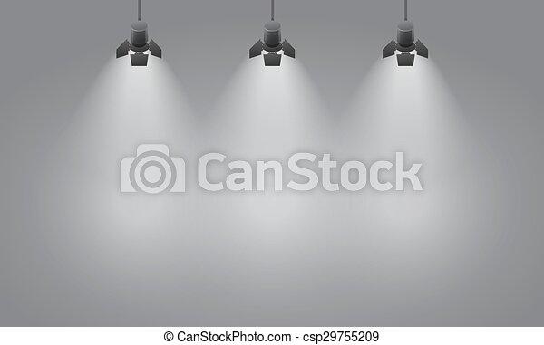 Empty wall - csp29755209