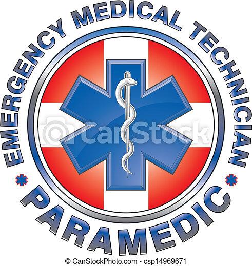 emt, 医学, デザイン, 交差点, 医療補助員 - csp14969671