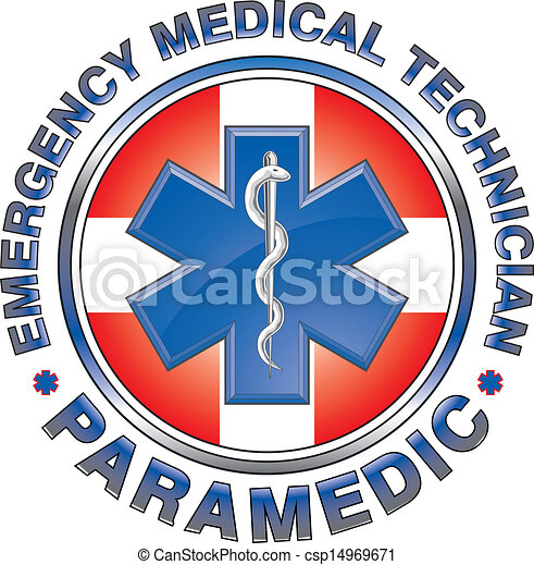 emt, monde médical, conception, croix, infirmier - csp14969671