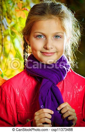 Un chico encantador - csp11373488