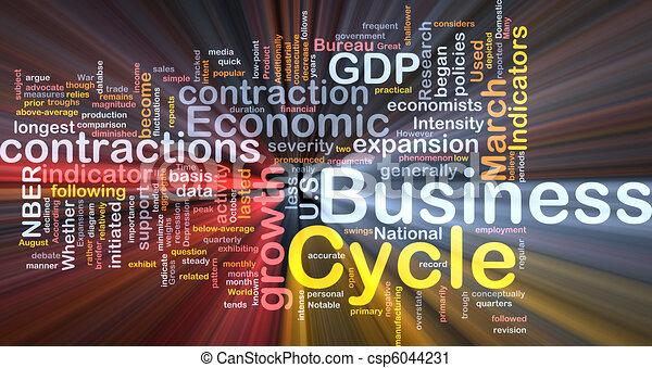 Los ciclos de negocios brillan - csp6044231