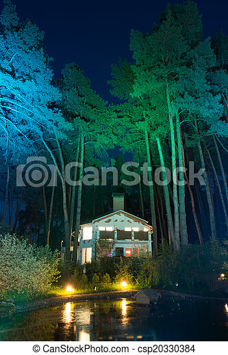 Enchanted house - csp20330384