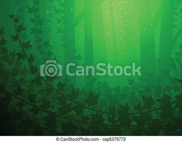 Enchanted ivy background - csp5379772