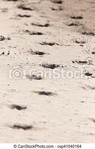 encombrements, sable - csp41040164