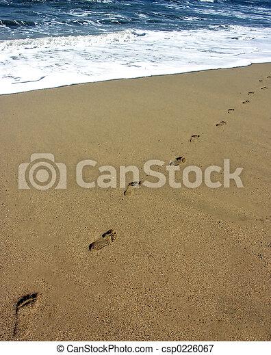 encombrements, sable - csp0226067