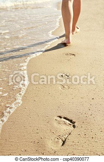 encombrements, sable - csp40390077