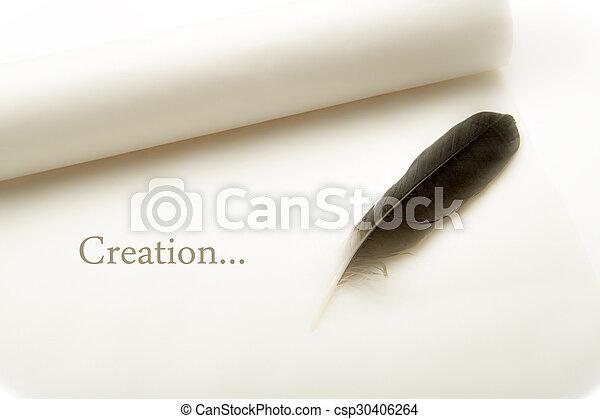 encore, stylo, papier - csp30406264