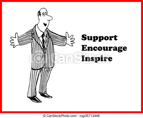 Encourage and Inspire - csp35713448