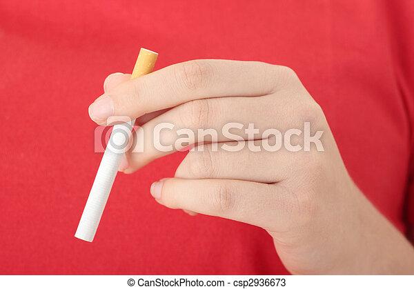 End of smoking - csp2936673