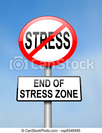 End of stress. - csp9348495