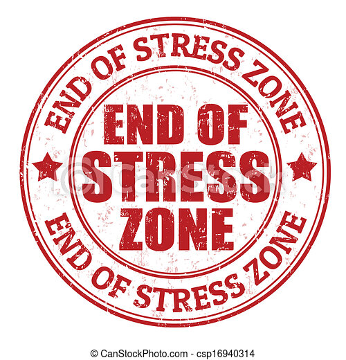 End of stress zone stamp - csp16940314