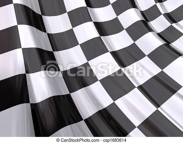 End Race Flag - csp1683614