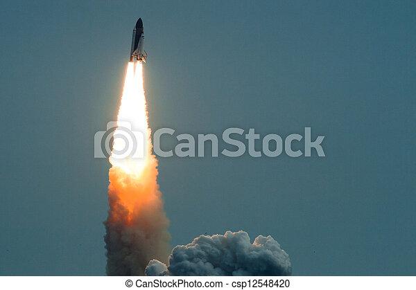 Endeavor rocket launch - csp12548420