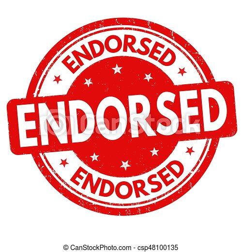 Endorsed sign or stamp - csp48100135