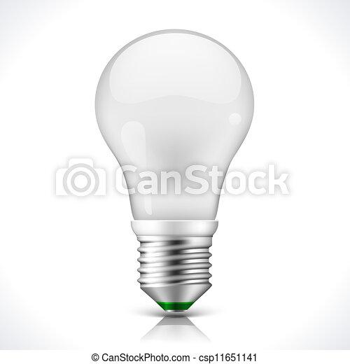 Una lámpara de ahorro de energía - csp11651141