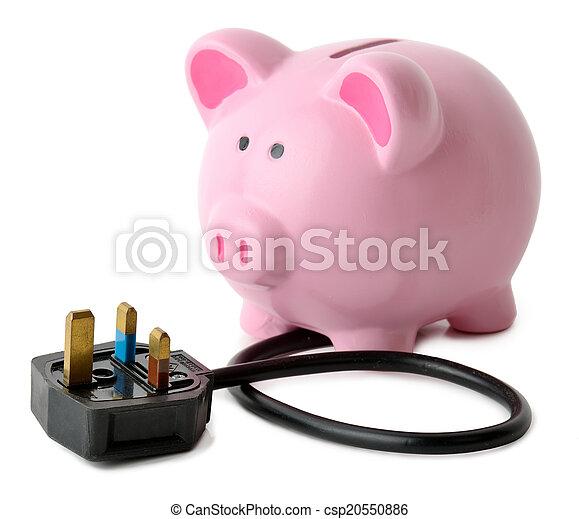 Ahorros de energía - csp20550886
