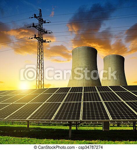 Conceptos de energía - csp34787274
