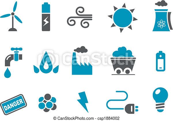 Icono de energía - csp1884002